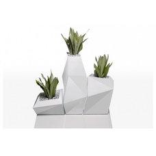 Contemporary Outdoor Planters by KE-ZU