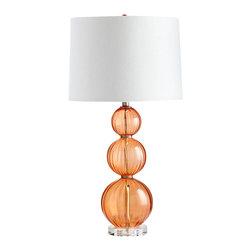 Cyan Design - Beale Table Lamp - Beale table lamp - orange