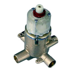 American Standard - Pressure Balance Rough Valve Body with Screwdriver Stops - American Standard R125SS Pressure Balance Rough Valve Body with Screwdriver Stops.