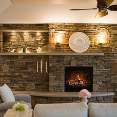 Cottage Living Rooms from Shane Inman : Designers' Portfolio 4056 : Home & Garde