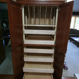Roll Out Shelves For Existing Cabinetry -