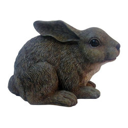 Michael Car Designs - Michael Carr Baby Rabbit Resin Statue Multicolor - MCD511013GY - Shop for Statues and Sculptures from Hayneedle.com! Careful not to spook the Michael Carr Baby Rabbit Resin Statue while it's adoring your home or garden. Part of the Garden Critters collection from Michael Carr Designs this cute and lifelike creature adds personality and charm to any yard or garden. This handsome critter is hand-made from durable high-quality polyresin material and then hand-painted for quality. The durable construction features a UV-resistant coating that won't crack or chip from prolonged sun exposure.About Michael Carr DesignsDesigning an exclusive line of high-end garden pottery fountains statuaries and bird baths Michael Carr Designs brings something new and innovative to your outdoor living space. There's something for everyone with their fashionable colors soft raining finishes and multiple styles. Each piece is hand-made beginning with a craftsman molding the clay and ending with a rustic Old World kiln. This means each piece is unique a true one-of-a-kind. Michael Carr Designs works in a variety of materials like Vietnamese glazed pottery Malaysian pottery Italian terracotta pottery and resin just to name a few.