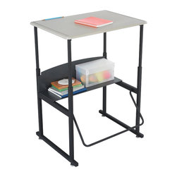 """Safco - Safco AlphaBetter 20"""" x 28"""" Student Desk in Beige - Safco - Classroom Desks - 1201BE - About This Product:"""