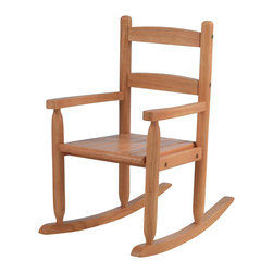 KidKraft - 2-Slat Rocker - Honey, Sturdy Construction by Kidkraft - Our 2-Slat Rocking Chair brings new life to the 2-slat design. If unsure about exactly which rocking chair you want to purchase, this classic design is a wise, safe decision.