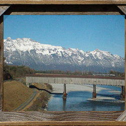 MyBarnwoodFrames - Corner Block Barnwood Frame 5x7 - Corner  Block  Barnwood  Frame  -  5x7    Our  Cornerblock  Barnwood  Frames  are  well-suited  to  rustic,  country  and  western  decors,  and  will  bring  out  the  best  in  your  favorite  photos  and  prints.  A  wide  selection  of  sizes  is  available.  This  frame  measures  5x7  with  an  overall  dimension  of  9x11.  Includes  glass  and  hanging  hardware.  Made  in  the  USA  from  reclaimed  barn  wood.    Product  Specifications:        Fits  5x7  print  or  photo  -  finished  size:  9x11      Cornerblock  barnwood  frame      Includes  glass      Made  in  the  USA        Please  Note:   Your  purchase  includes  a  frame,  print,  glass,  and  hardware  for  hanging.