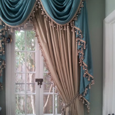 Traditional Curtains by P&D Window Fashions