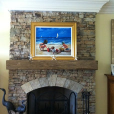 Traditional Fireplace Accessories by FauxWoodBeams