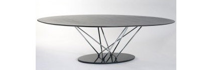 ItalModern Stockholm Oval Dining Table