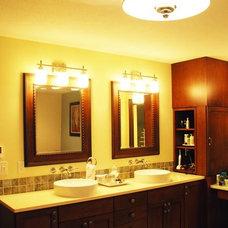 Modern Bathroom by Nest Interiors