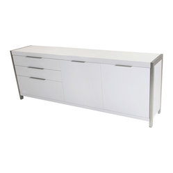 Moes Home Neo Sideboard in White