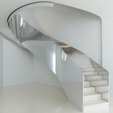 Modern Staircase by M Cohen and Sons