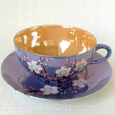 asian cups and glassware by Etsy