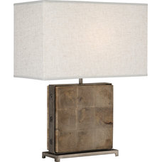 Rustic Table Lamps by Masins Furniture