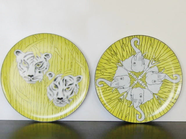 Eclectic Dinner Plates by Etsy