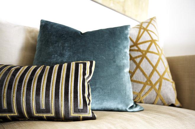Midcentury Living Room by Beth Dotolo, ASID, RID, NCIDQ