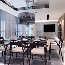 Contemporary Dining Room by senihomes
