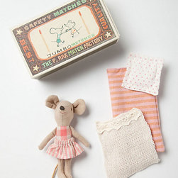 Little Girl Mouse in a Box - This wee lass is as sweet as can be and really stirs the imagination, making her a crowd favorite.