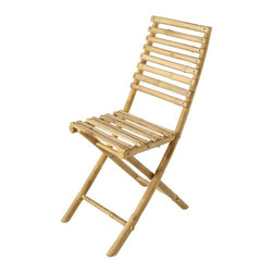 ZEW Inc. - Bamboo Collapsible Chairs - Bamboo Collapsible Chairs