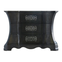 Hooker Furniture - Hooker Furniture Melange High Drama Chest in Gray - Hooker Furniture - Chests - 63885072 - Come closer to Melange and you will discover something unexpected an eclectic blending of colors textures and materials in a vibrant collection of one-of-a-kind artistic pieces.