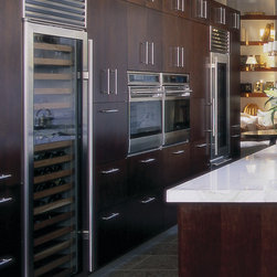 Sub-Zero Refrigerator and Freezer - This is my favorite refrigerator and freezer made by Sub-Zero. It can be purchased through www.jamieshop.com at designer prices