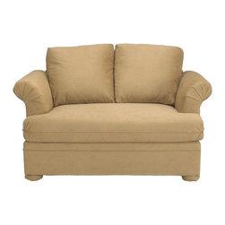 Savvy - Madrid Chair Sleeper Sofa, Belsire Honey, Chair Sleeper, Dreamsleeper Mattress - Madrid Chair Sleeper Sofa in Belsire Honey