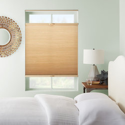 Window Shades - Cellular shades provide beauty, function, and versatility to any room. These cellular shades come in a variety of colors and dress up any room.