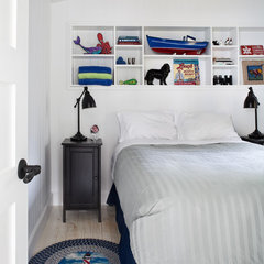 eclectic bedroom by CapeRace Cultural Adventures