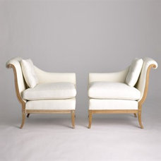 Traditional Armchairs by Jan Showers