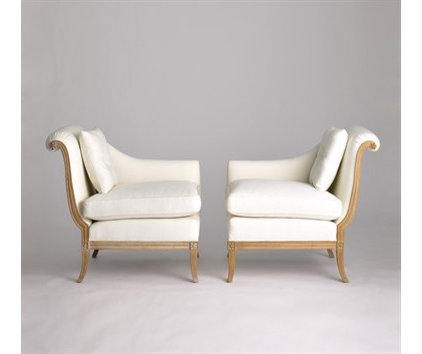 Traditional Accent Chairs by Jan Showers