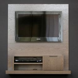 Backdrop Wall Mounted Media Console - Narrow - Jason Lees Design