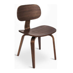 Gus Modern Thompson Chair SE - Gus* - Thompson Chair SE.Based on the iconic shape and proportions of the original Thompson Chair, the Thompson Chair SE features a bent-ply seat, back, and legs, all finished in warm walnut. It works well as a dining chair, or as standalone accent seating.