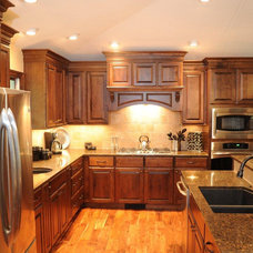 Traditional Kitchen Cabinetry by Consolidated Kitchens & Fireplaces