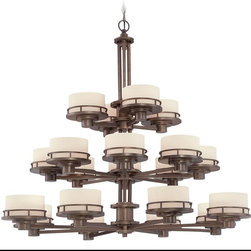 Dolan Designs - Transitional 20 Light 3 Tier Classic Bronze ChandelierBeacon Collection - The Beacon Collection is combined with Traditional / Classic and Contemporary style.