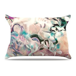 """Kess InHouse - Mat Miller """"Fluidity"""" Pillow Case, Standard (30"""" x 20"""") - This pillowcase, is just as bunny soft as the Kess InHouse duvet. It's made of microfiber velvety fleece. This machine washable fleece pillow case is the perfect accent to any duvet. Be your Bed's Curator."""
