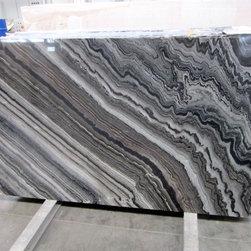 Royal Stone & Tile Slab Yard in Los Angeles - Exotic Marble Slab Silver Wave from Royal Stone & Tile