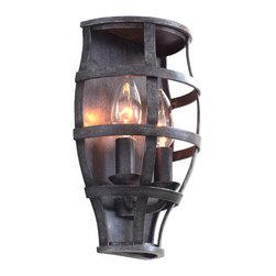 Kalco Lighting - KALCO Lighting 7491VI Townsend Vintage Iron ADA Wall Sconce - KALCO Lighting 7491VI Townsend Vintage Iron ADA Wall Sconce