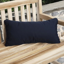 None - Charisma Reversible Indoor/ Outdoor Green Pillow made with Sunbrella - Create a cozy outdoor space with this rectangle green outdoor pillow. The decorative pillow is constructed from Sunbrella fabric,which is resistant to stains,mildew,and harmful UV rays and is filled with polyester foam for added comfort.
