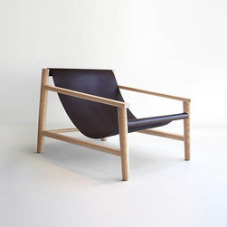 Starling Chair - You would never guess from the minimal scandinavian lines of this chair, that it is by a contemporary New Zealand designer. Designed not to visually interrupt the flow of any room, this accent chair could easily become one of my favorites.