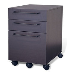 Jesper - Jesper - Tribeca Collection - 3 Drawer File Cabinet - Espresso - Jesper Office specializes in making modular office furniture for the home and small business, along with a complementary line of modular library and home entertainment furniture. The company, originally based in Denmark, has been designing and manufacturing high quality furniture since 1935. Today, Jesper Office is based in Branchburg, New Jersey where it maintains a U.S warehouse and sales office along with several manufacturing facilities overseas.