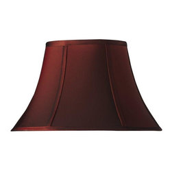 Home Decorators Collection - Home Decorators Collection Lamp Shades Bell Small 14 in. Diameter Red Silk - Shop for Lighting & Ceiling Fans at The Home Depot. Available in an array of classic colors our Bell Silk Lamp Shade is the perfect accent to any lamp in your home. The silk blend construction and bell shape offer a classic look that will match virtually any decor. Order yours today.
