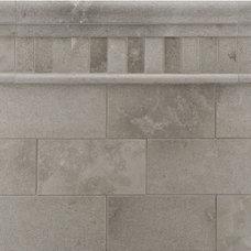 Contemporary Tile by Rebekah Zaveloff | KitchenLab