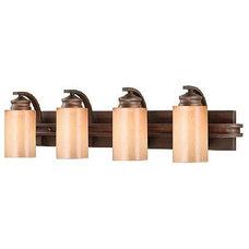 Traditional Bathroom Vanity Lighting by Carolina Rustica