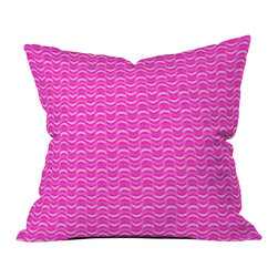 DENY Designs - Hadley Hutton Spring Spring Collection 3 Outdoor Throw Pillow - Do you hear that noise? it's your outdoor area begging for a facelift and what better way to turn up the chic than with our outdoor throw pillow collection? Made from water and mildew proof woven polyester, our indoor/outdoor throw pillow is the perfect way to add some vibrance and character to your boring outdoor furniture while giving the rain a run for its money.