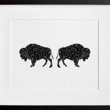 Contemporary Artwork The Bison Constellation