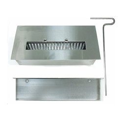 None Stainless Steel Bio Burner Insert You Do Not Need