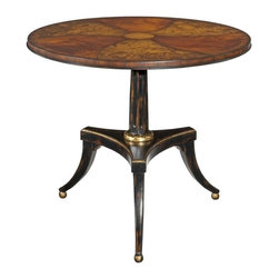 EuroLux Home - New Hope/Regency Style Round Center Table - Product Details
