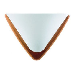 """Domus - Domus PILA Wall Sconce - The eye-catching feature if this lamp is its elegantly rolling curvature formed in many working steps from a single piece of wood.  Product Details The eye-catching feature if this lamp is its elegantly rolling curvature formed in many working steps from a single piece of wood.                         Manufacturer            Domus                            Designer            DOMUS Team                            Made In            Germany                            Dimensions            Max Height:8 3/4""""(22cm)X Width:A:5 7/8""""(15cm) and B:11 3/4"""" (30cm)                            Light Bulbs            1 X 60W E27 halogen                            Material            Wood and Lunopal"""