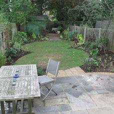 Traditional Landscape by Fenton Roberts Garden Design