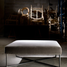 Contemporary Footstools And Ottomans by Jane Lockhart Interior Design