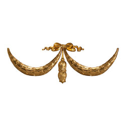 uDecor - GF-2110 Ornamental Set - For anyone looking for an elegant way to adorn your home or business, our gold foil products are the perfect way to achieve your desired look. Made out of polyurethane and then coated with 18k gold foil, these products are sure to leave your family and clients impressed.  Made from dense polyurethane